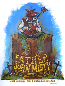 Setlist, Stream, Download & Poster: Father John Misty @ Lincoln Hall 10/30/12