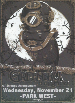 Review, Stream, Download, Video: Greensky Bluegrass, Strange Arrangement & Chicago Farmer @ Park West 11/21/12