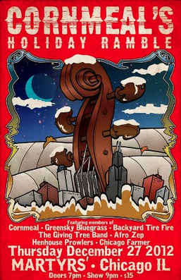 Preview: Cornmeal's Holiday Ramble - Martyrs 12/27/12