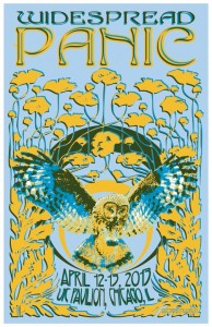 Setlist / Review / Stream / Download: Widespread Panic @ UIC Pavilion, Chicago 4/12/13