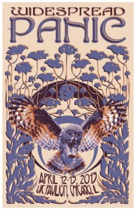 Setlist / Review / Stream / Download: Widespread Panic @ UIC Pavilion, Chicago 4/13/13