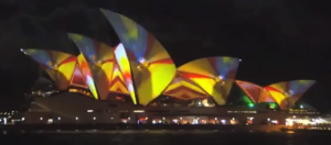 Sydney Opera House Becomes Psychedelic Canvas To The Tune Of Auburn Hills Tweezer