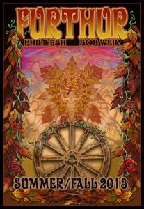 Visual Setlists: Furthur Summer Tour 2013