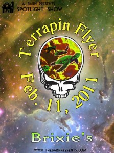 New Spotlight Show: Terrapin Flyer @ Brixie's