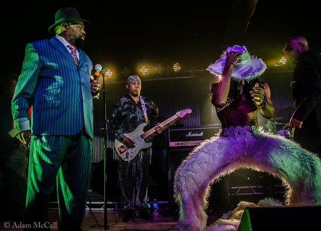 George Clinton Unveils New Look at Concord Music Hall (Photos / Video)