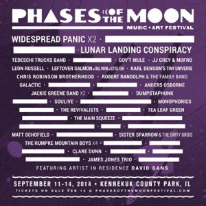 Phases Of The Moon Festival: Fact and Rumors