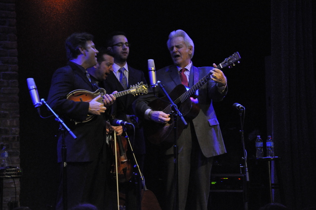 Review / Photos / Audio / Setlist: Del McCoury Band @ City Winery 3/8/14