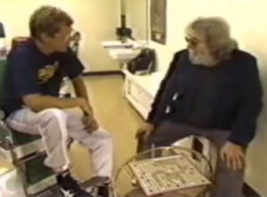 Jerry Garcia & Bob Weir On Letterman