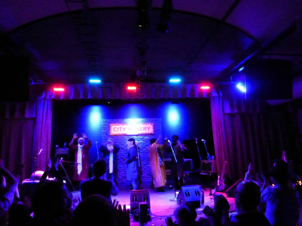 Setlist / Video: Tinariwen @ City Winery 4/5/14