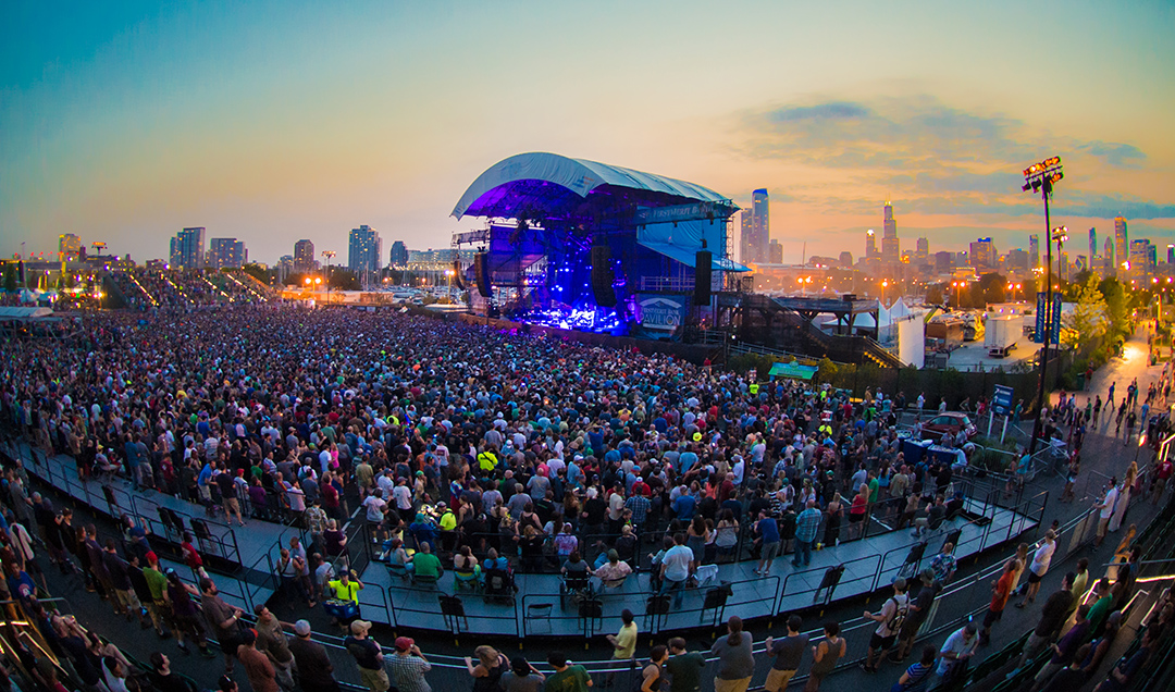 Setlist / Review In 5 Tweets / Video: Phish @ Northerly Island 2014 Night One 7/18/14