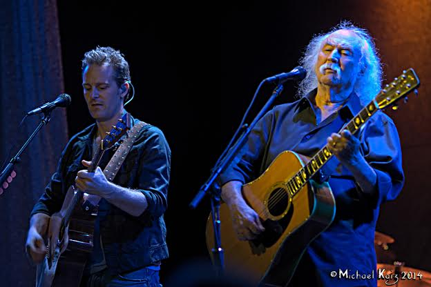 Photo Gallery & Videos: David Crosby's Summer In Chicago 2014
