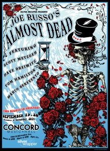Win Tickets! Joe Russo's Almost Dead 9/19-20 @ Concord Music Hall