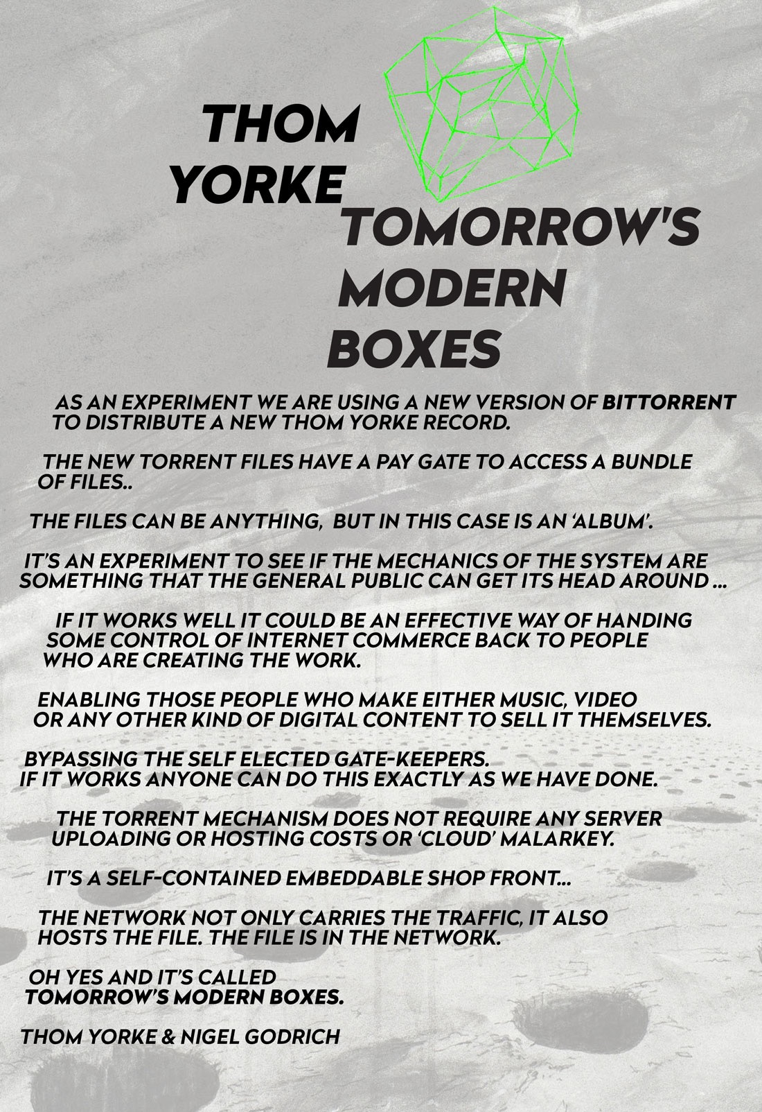 Thom Yorke's Surprise Is Nothing New