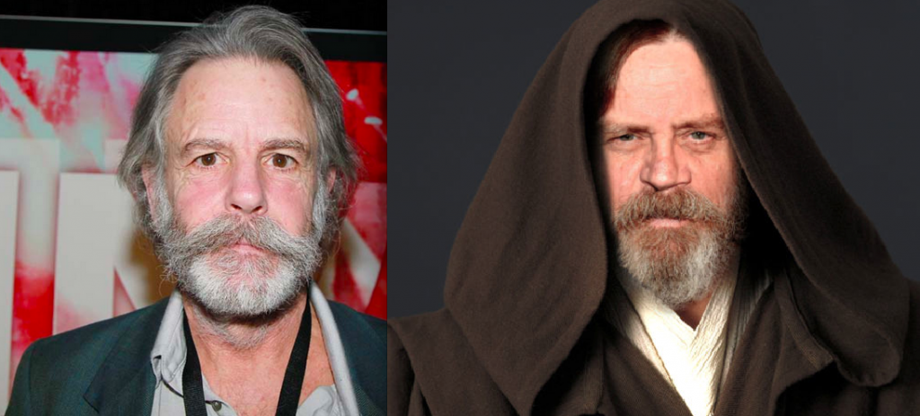 Do I See A Resemblance?  Bob Weir or Episode VII Luke Skywalker?