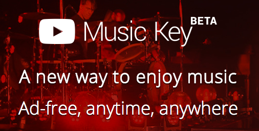 Music Streaming with YouTube Key: Is 7.99 the new 9.99?