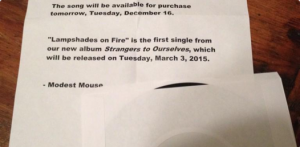 Modest Mouse Enlists Fan, Radio Station To Preview