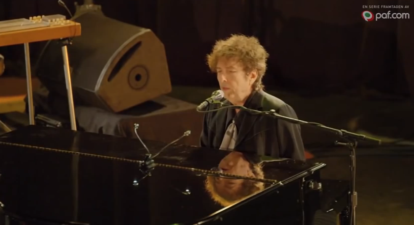 Table For One: Bob Dylan Treats Single Fan To A Performance For Swedish TV