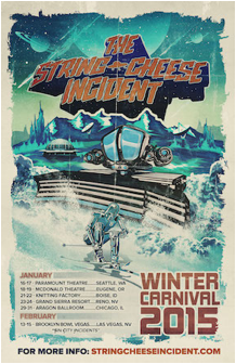 Preview: String Cheese Incident @ Aragon Ballroom - January 2015