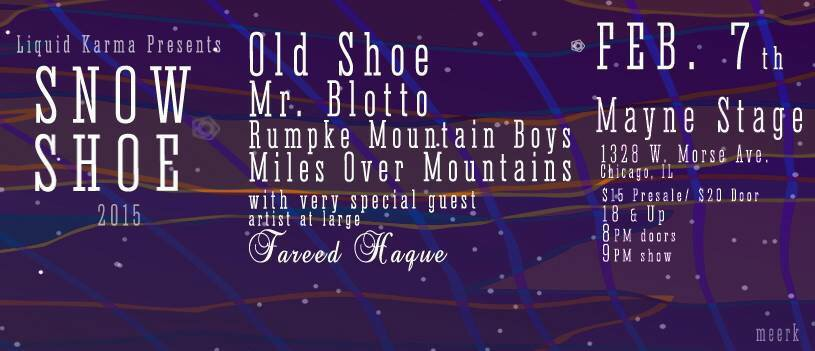 Preview & Ticket Giveaway | Snow Shoe @ Mayne Stage 2/7/15