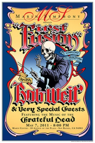 Symphony Sunday: Bob Weir's First Fusion in Marin 5/7/2011 Stream and Download