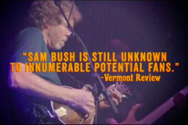 Preview & Ticket Giveaway | Sam Bush @ City Winery 6/11/15