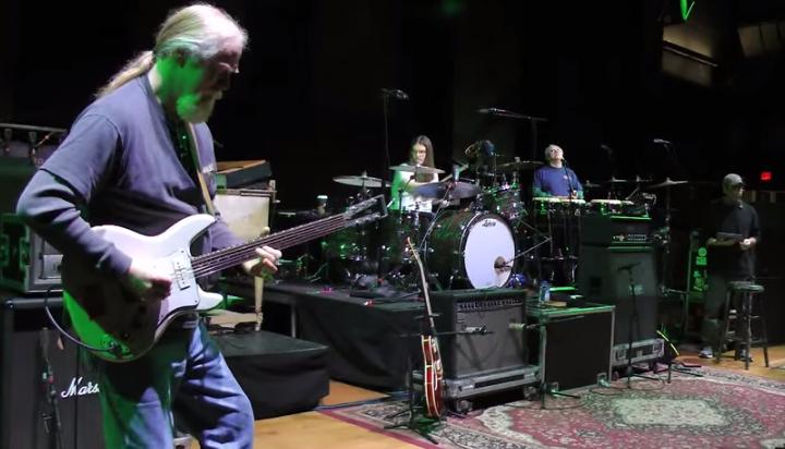 VIDEO   Widespread Panic Soundchecks 'Ramble On Rose' @ Dear Jerry