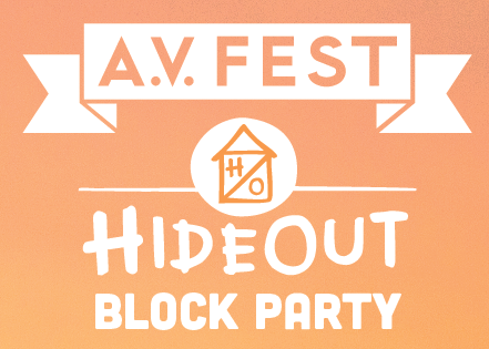 The Hideout Won't Host Block Party/A.V. Fest This Year