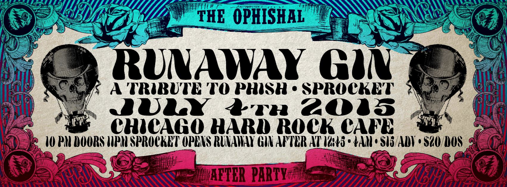 Preview & Ticket Giveaway | Runaway Gin & Sprocket @ Hard Rock Cafe
