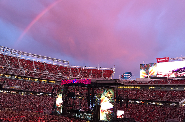 Fake Rainbows, Streams, Setlist | Grateful Dead @ Levi's Stadium 6/27/15