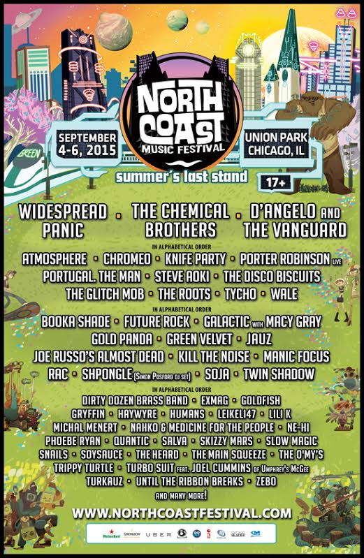 Seventeen More Great Reasons to Love North Coast Music Festival | Win A Pair of GA Tickets!