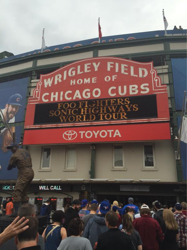 Setlist / Video / Recap | Foo Fighters @ Wrigley Field 8/29/15