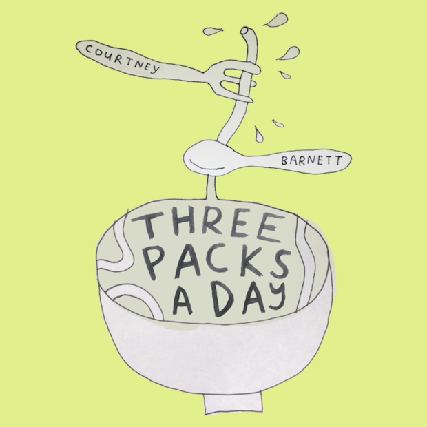 "Listen To A New Courtney Barnett Song, ""Three Packs A Day"""