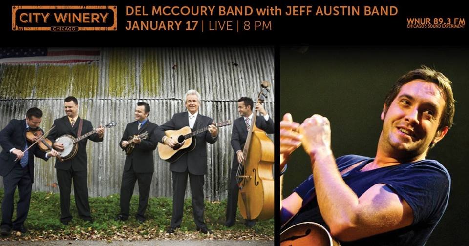 Preview & Ticket Giveaway | Del McCoury Band & Jeff Austin Band @ City Winery 1/17