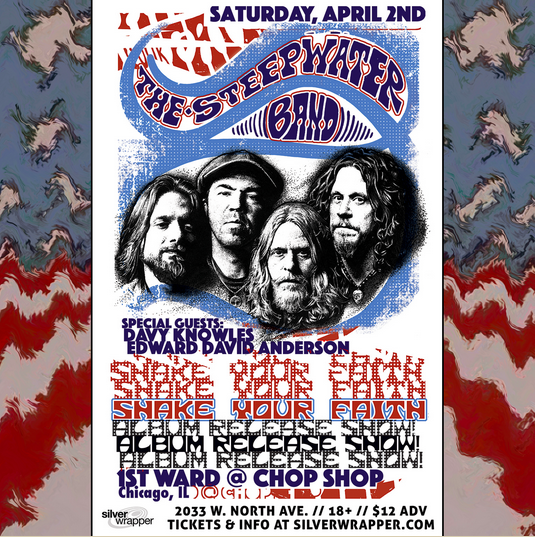 The Steepwater Band Releases Single, Will Celebrate Album Release In Chicago 4/2/16