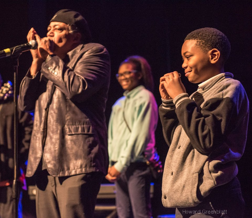 Photos | Billy Branch Brings 'Blues In Schools' Program to DuSable Museum