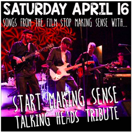 Preview | Start Making Sense @ Martyrs' 4/16/16