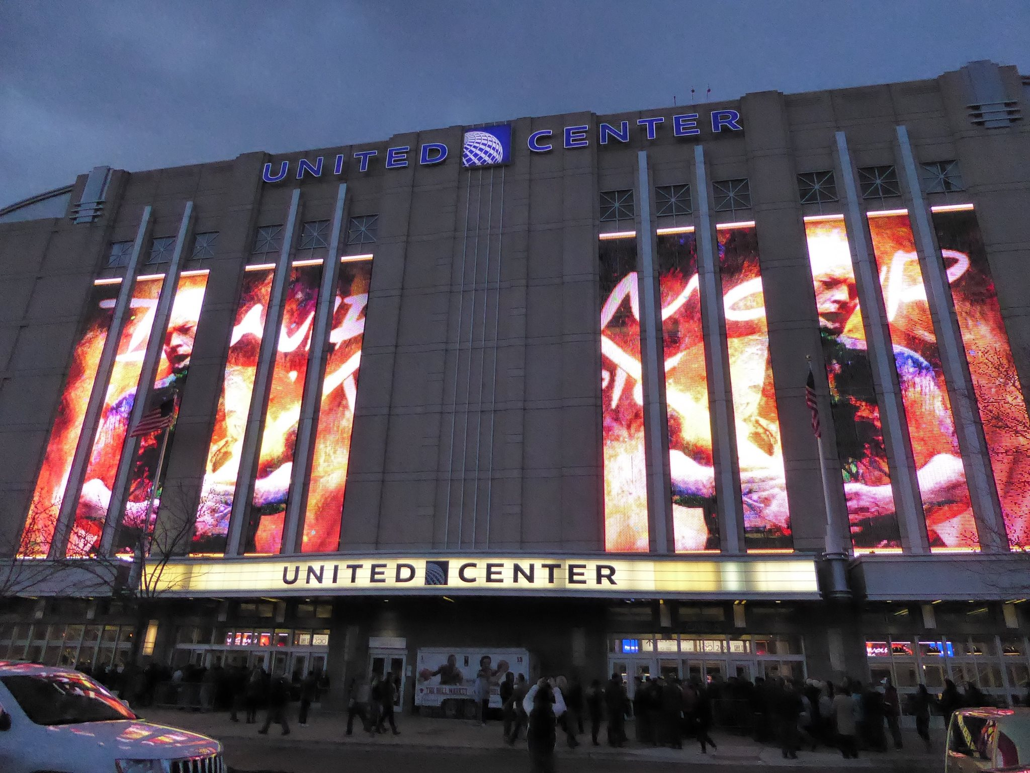 Stream / Download / Photos | David Gilmour @ United Center 4/8/16