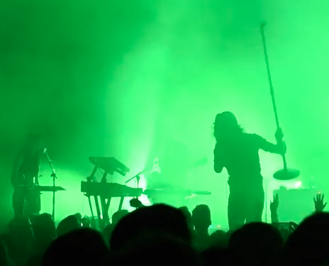 "Watch Father John Misty Cover Nine Inch Nails' ""Closer"" At The Riviera"