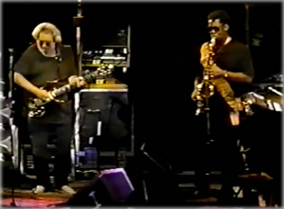 Jerry Garcia Band with Clarence Clemons @ Poplar Creek 9/16/89: Stream & Download