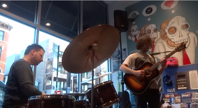 VIDEO   Ryley Walker & Charles Rumback @ Permanent Records - RSD 2016