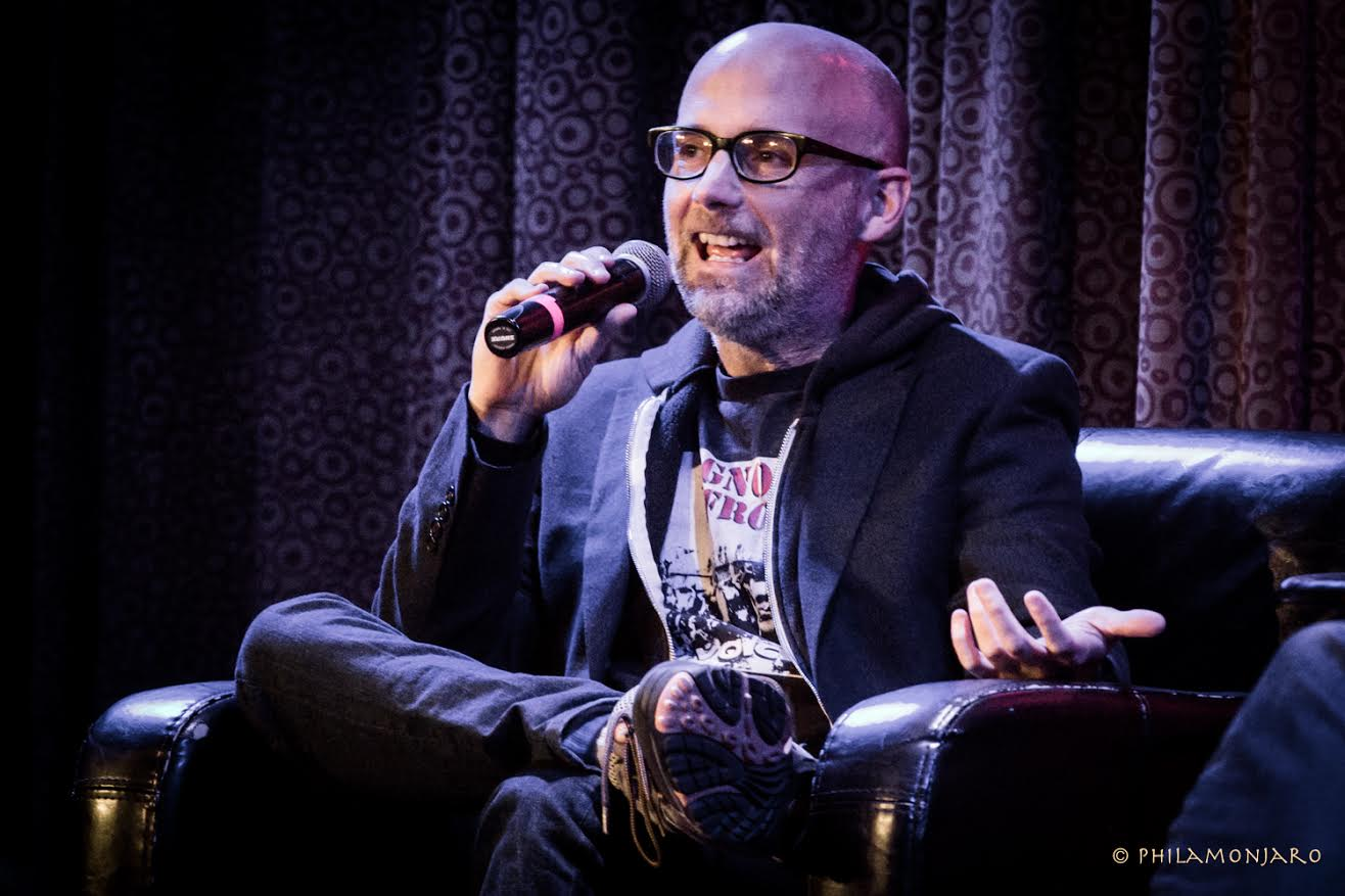 Photos / Recap | Moby & Mark Bazer Chat At City Winery