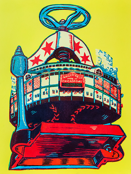 Wrigley Weekend Is A Phish Poster Nerd's Dream