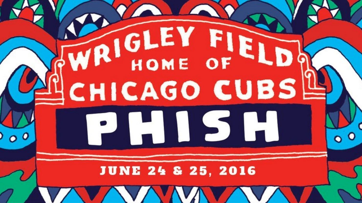Phish Fans Guide To Chicago Wrigley  Tomorrows Verse - Chicago map showing wrigley field
