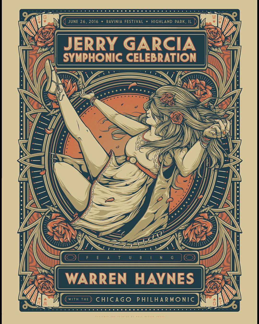 Setlist / Video | Jerry Garcia Symphonic Celebration with Warren Haynes @ Ravinia 6/26/16