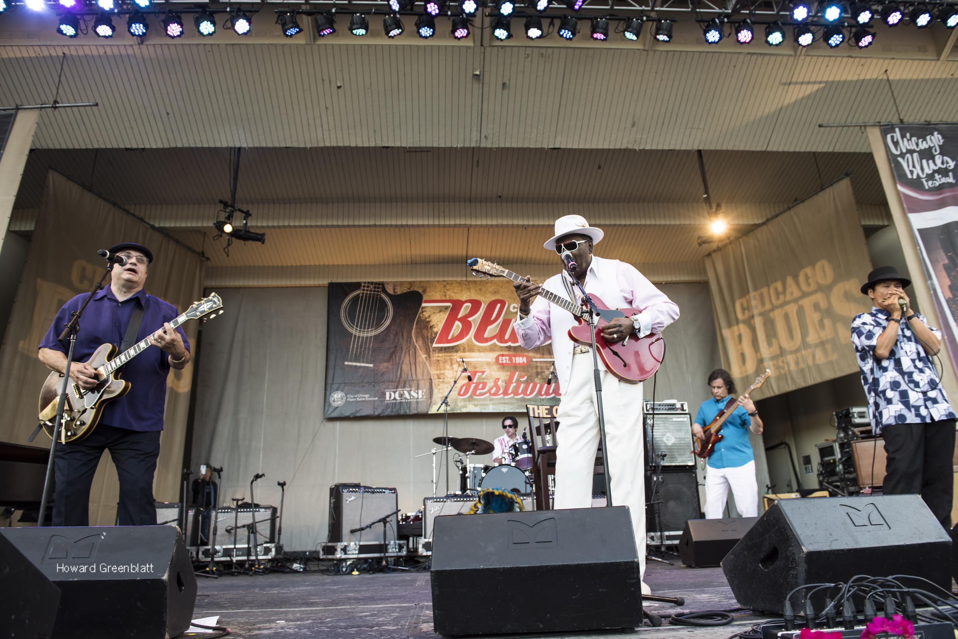 Photo Essay | Sunday at Chicago Blues Fest 2016
