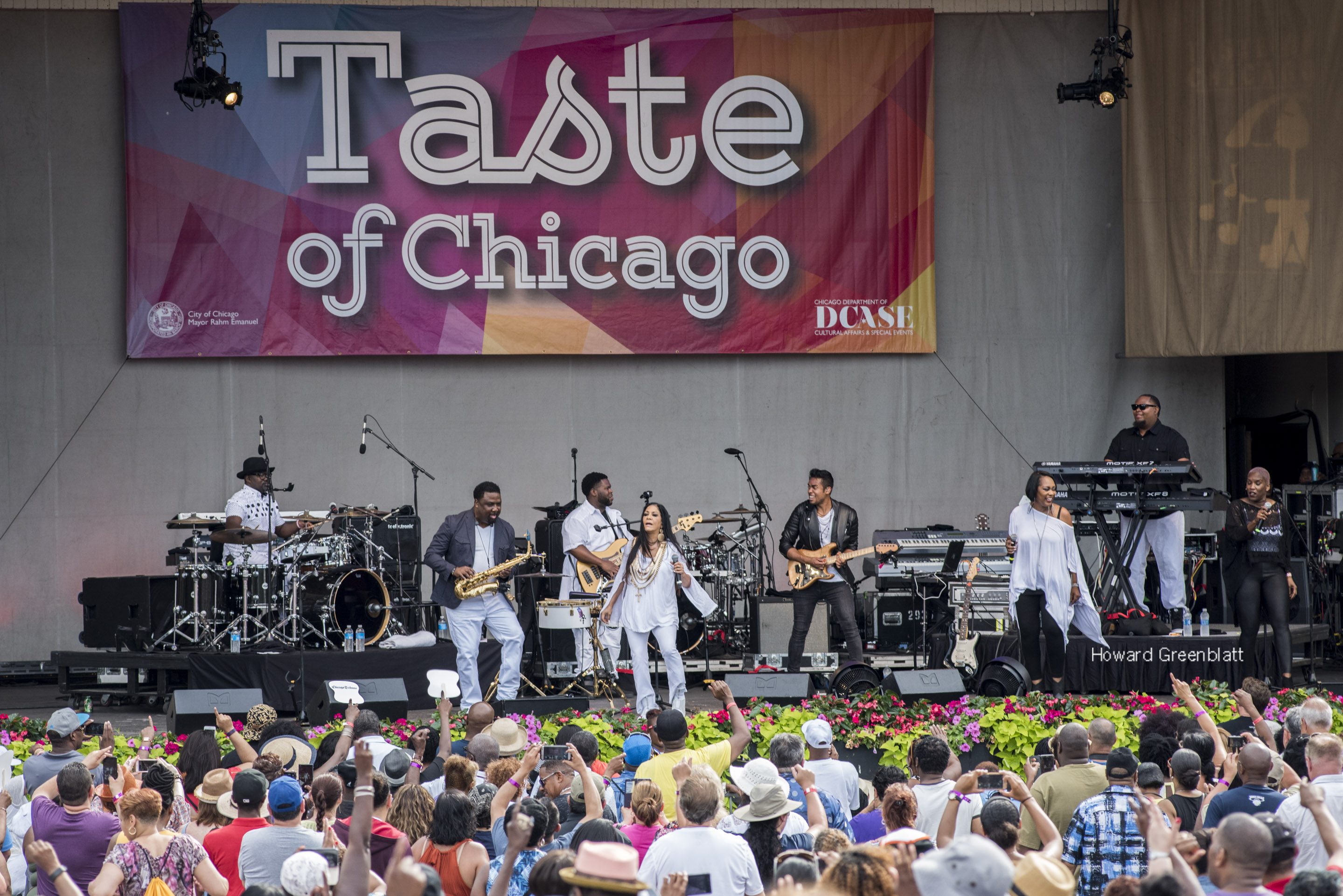 Taste Of Chicago Wraps Up With Retro Feel
