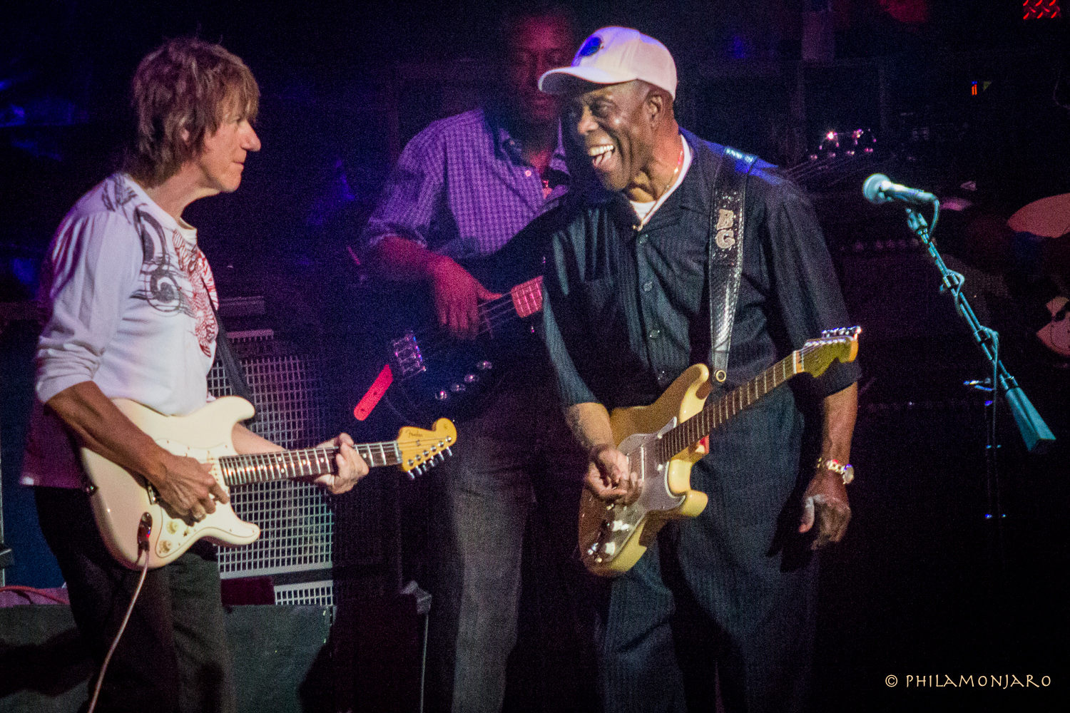 Photos / Recap | Jeff Beck & Buddy Guy @ Ravinia 7/31/16