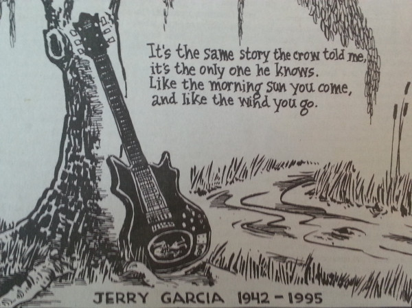 Grateful Dead Hotline Message 8/9/95