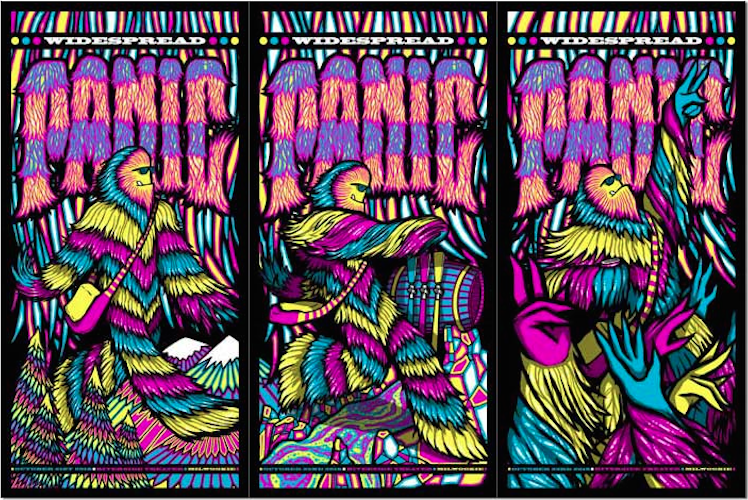 Widespread Panic @ The Riverside 2016   Posters & Preview