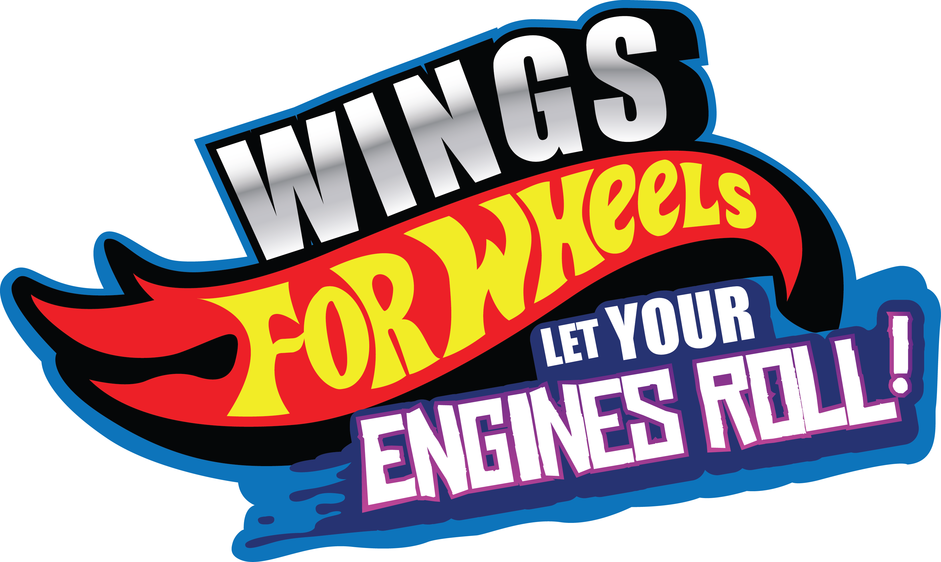 Wings For Wheels | Greensky Bluegrass + Team Hot Wheels T-Shirt from Apparel Thee Well
